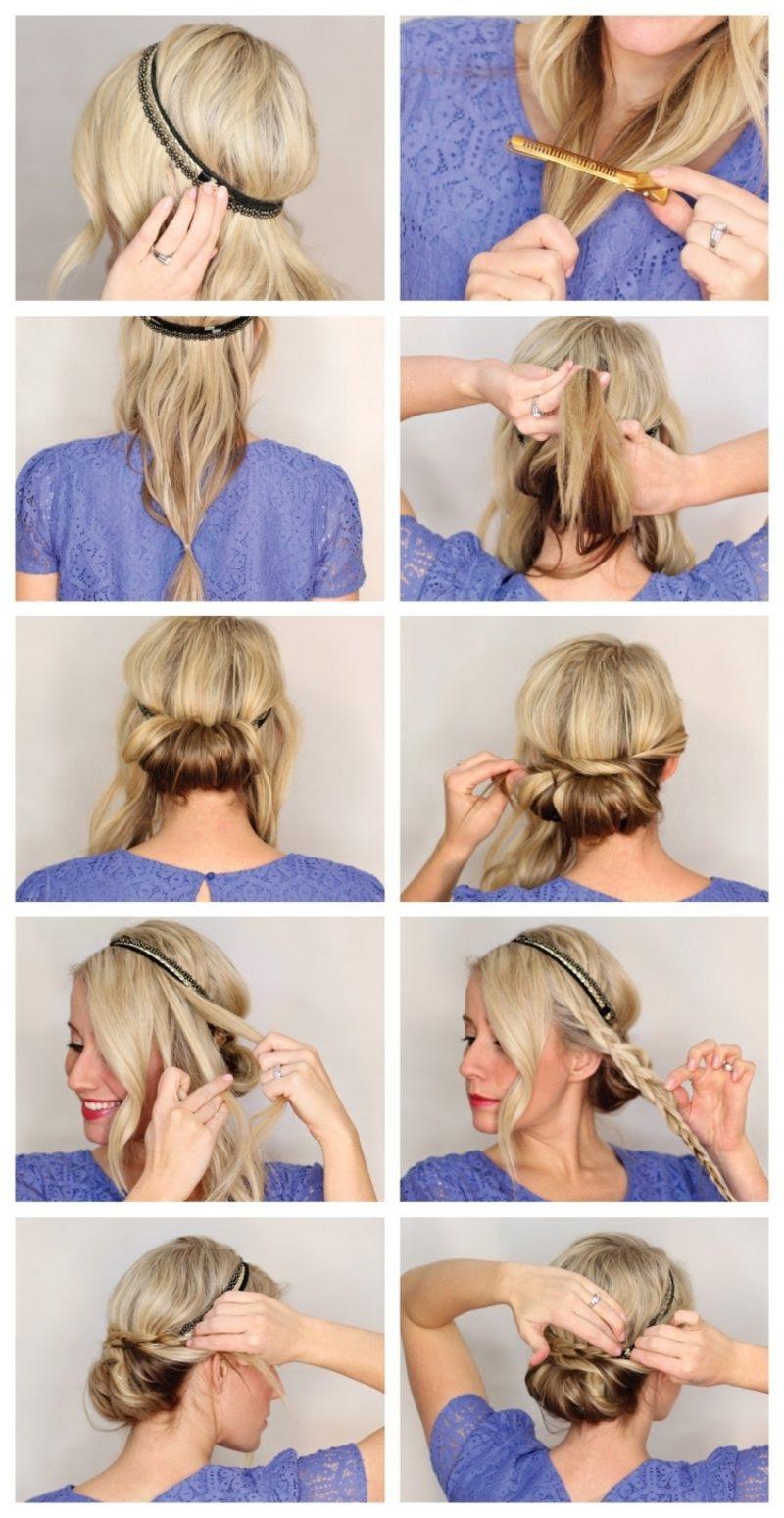 Schön Elegante Frisuren Mittellanges Haar Finden Sie Die Beste