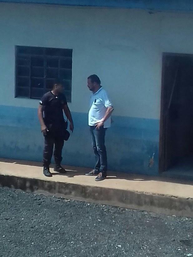Momento da prisão do ex-deputado Kaká Mendonça