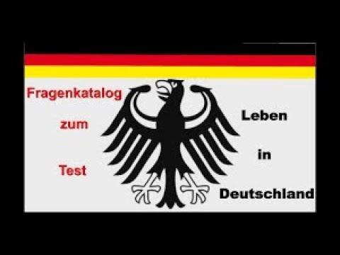 Fragenkatalog zum Test Leben in Deutschland 1-10