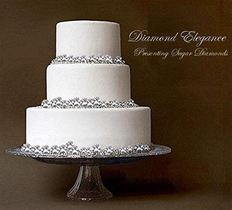 17 Best images about Jewel Wedding Cake   Silver pearls