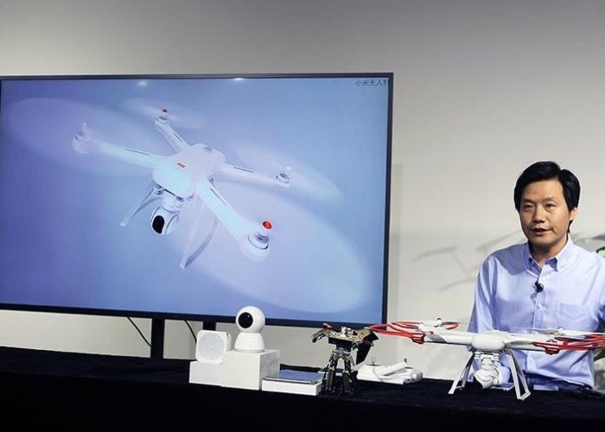 Xiaomi mi Drone, graba tus vuelos a resolución 4K con el primer dron modular