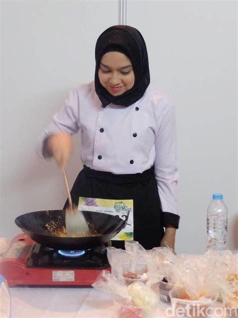 calon chef hijabers cantik pamer bakat masak  sunsilk