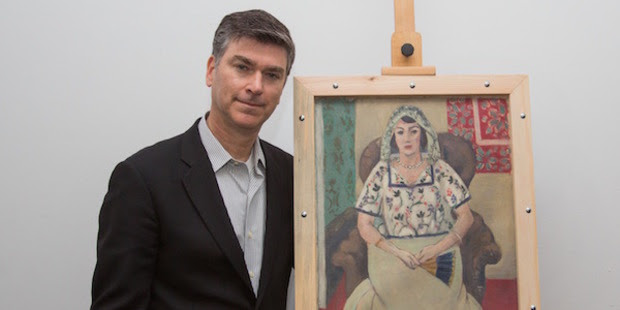 Art recovery expert Christopher Marinello has negotiated the recovery of more than $500m of stolen art - including this Matisse. Photo / supplied
