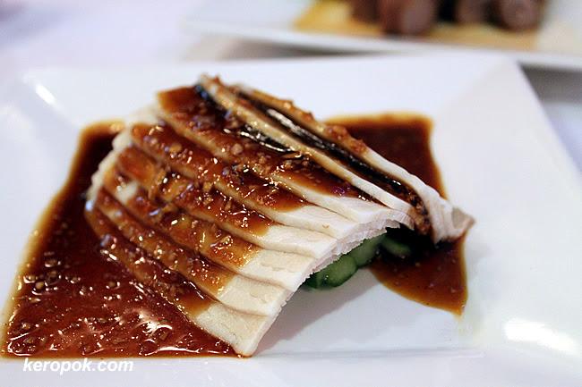 Steamed Cold Pork Belly with Garlic