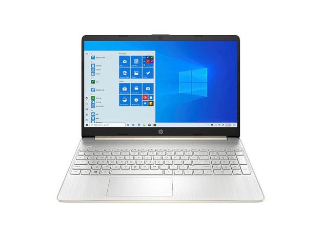 HP 15DY0014DS 15.6 inch HD SVA Intel® Celeron® Laptop - 4 GB DDR4/256 GB - Pale Gold for $469