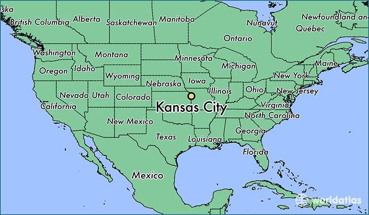 Where Is Kansas City Mo Kansas City Missouri Map