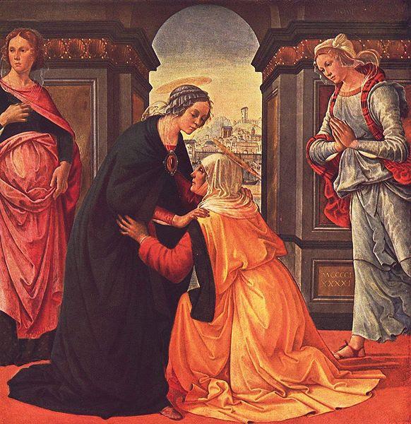 Saints Zacharie et Elisabeth, parents de saint Jean-Baptiste (1er s.)