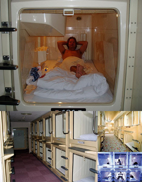 7 of the Smallest Hotels and Hotel Rooms in the World: From Pipe ...