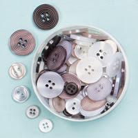 Neutrals Designer Buttons