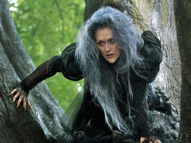 Meryl Streep vive bruxa má em 'Into the woods' (Foto: Divulgação)