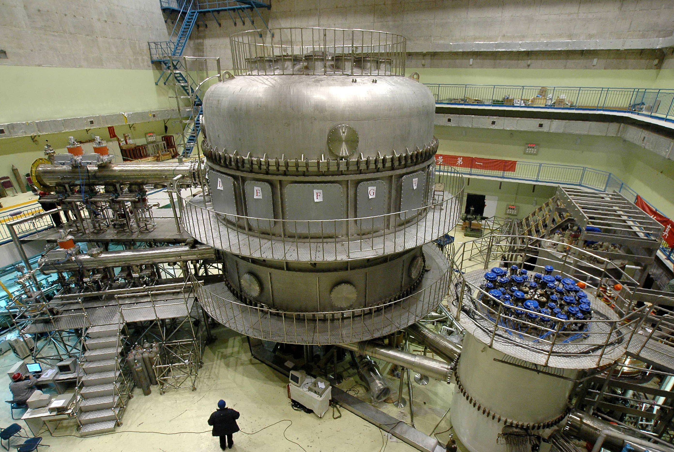 Resultado de imagem para Experimental Advanced Superconducting Tokamak (EAST)