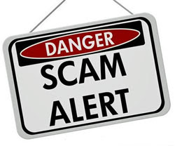 Phone scam targeting local businesses
