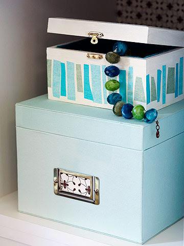 Make a Pretty Storage Box