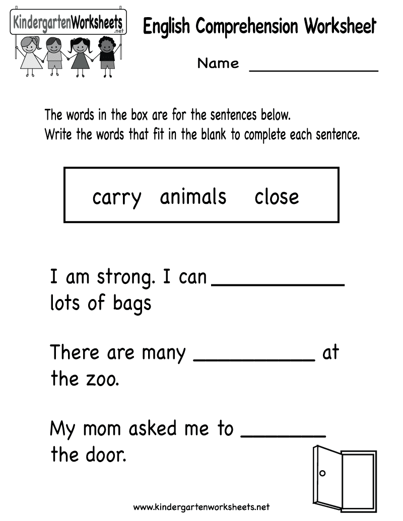 English Worksheet Category Page 1 Worksheeto