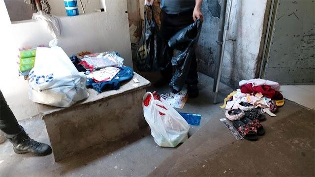 Mulher é presa após ser flagrada roubando lojas no centro de Teresina