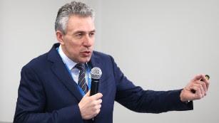 Sergei Gorkov's bank has been under US sanctions for three years.
