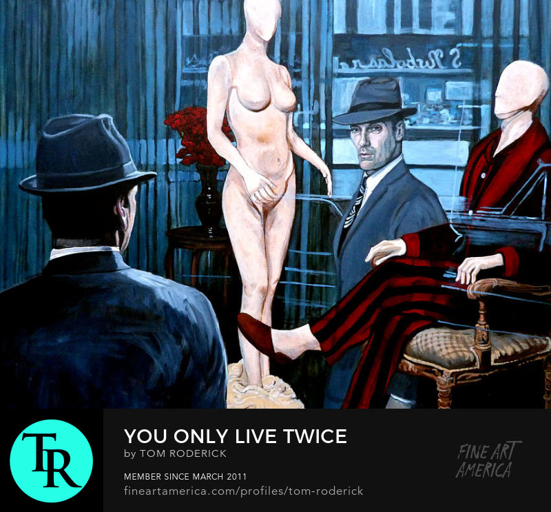 You only live twice by Boulder artist Tom Roderick