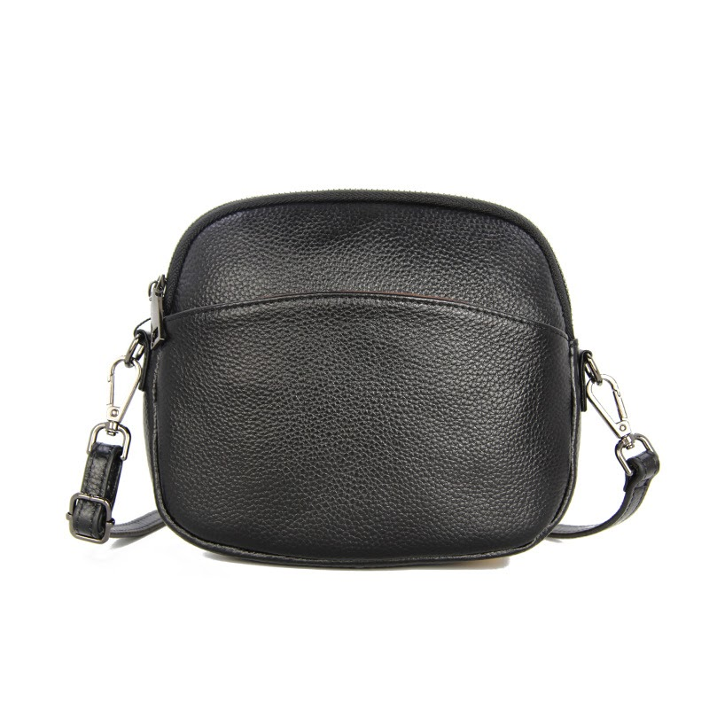 Buy Vintage Crossbody Genuine Leather Cell Phone Shoulder Bag Small Casual Messenger Bags Fashion Daily Use For Women
