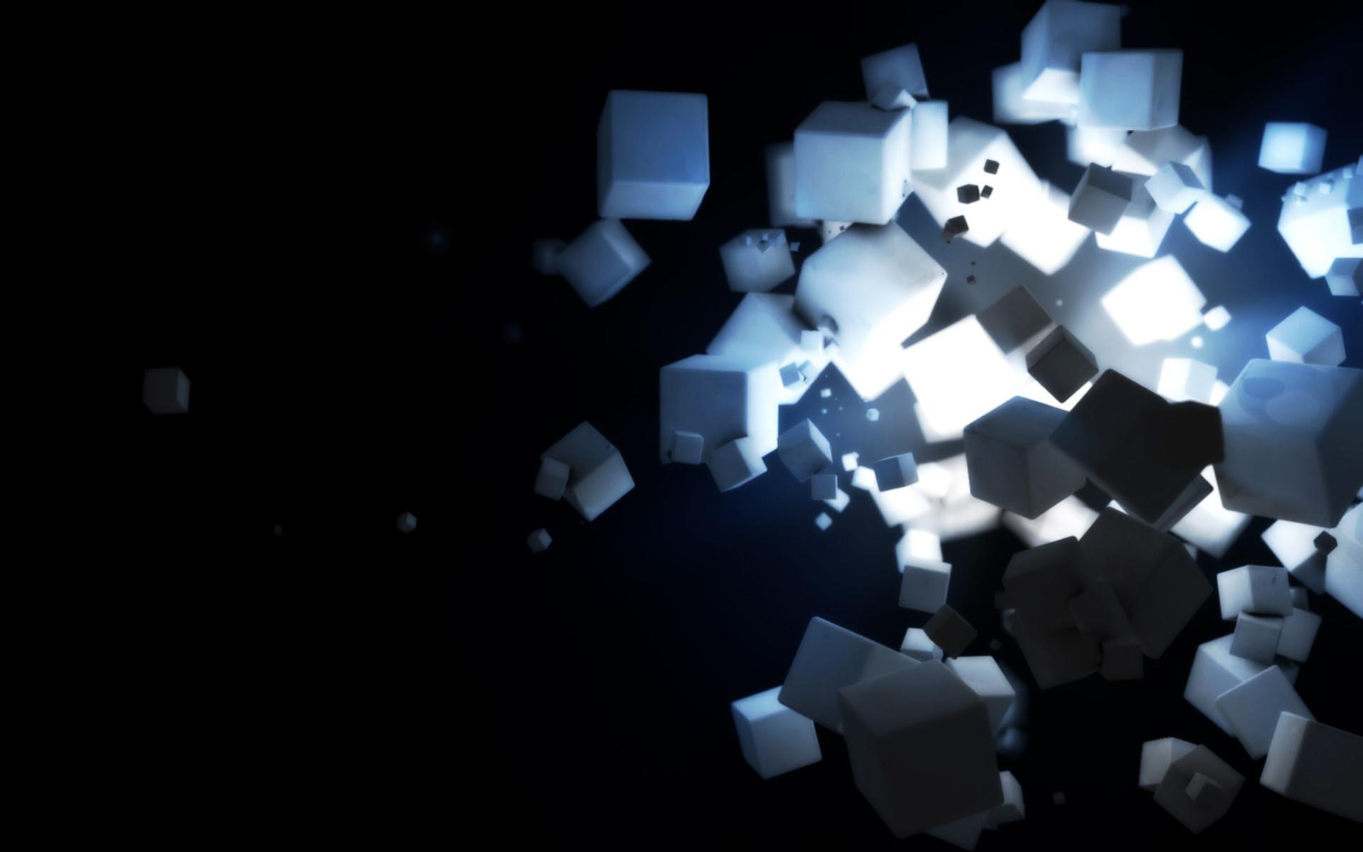 3d Cube Wallpaper