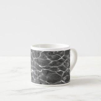 After Hockney - Black & White: Light on water specialtymug