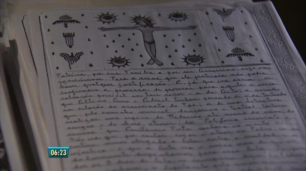 Todas as ilustrações do livro foram feitas pelo próprio Ariano (Foto: Reprodução/TV Globo)