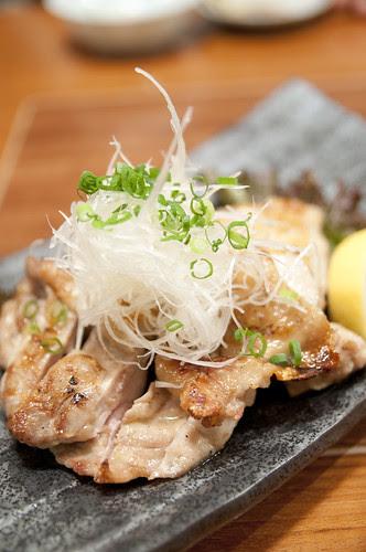 もも肉塩焼き, 地滋 玄海, 新宿タカシマヤ