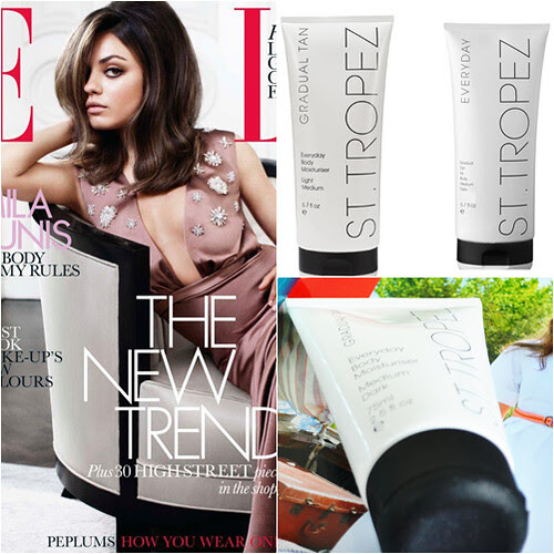 Elle mag UK July August St Tropez freebie