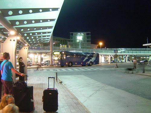 Helsinki AirPort Bus Stop