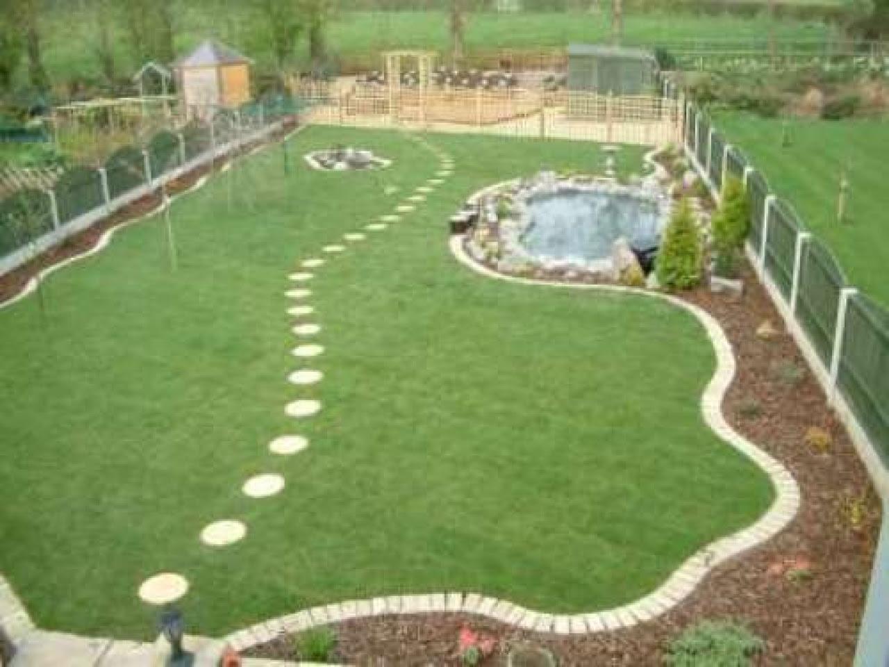 Easy large garden design ideas  Hawk Haven