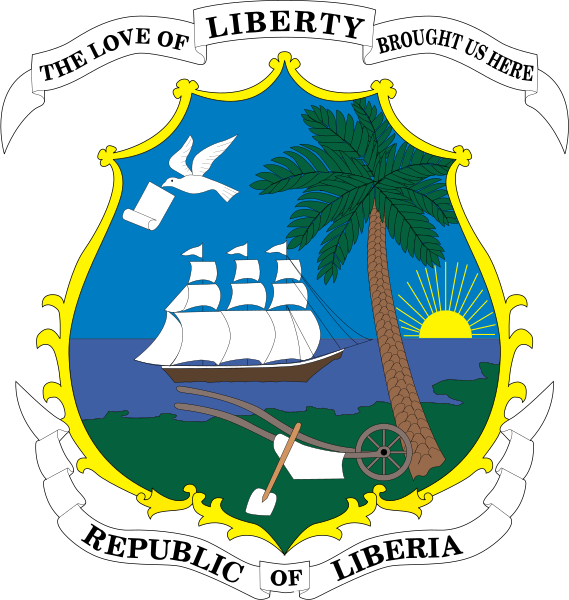 File:Coat of arms of Liberia.svg