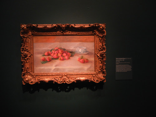 DSCN5629 _ Strawberries, c 1905, Pierre-Auguste Renoir, NY MOMA at De Young