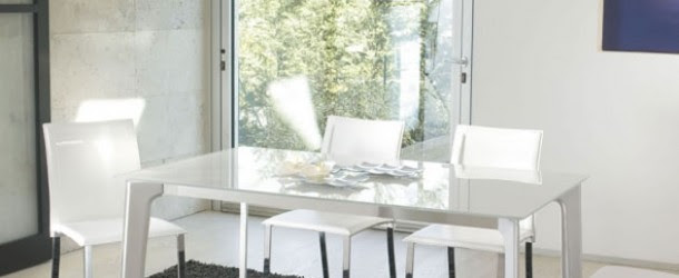 15 Superb Stainless Steel Dining Table Designs   Home ...