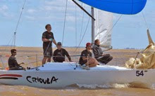 J/24 Crioule- sailing ODESU south american games