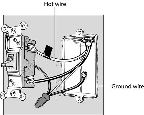 Light Switch Wiring Diagram Red Black