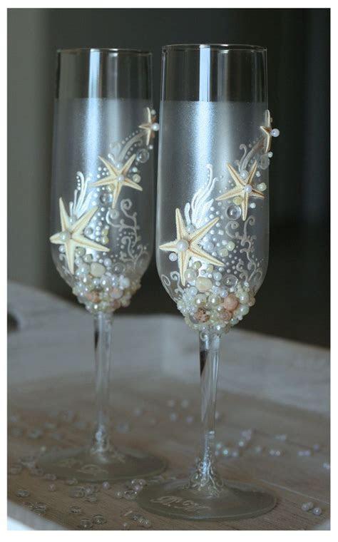 1000  ideas about Wedding Toasting Glasses on Pinterest