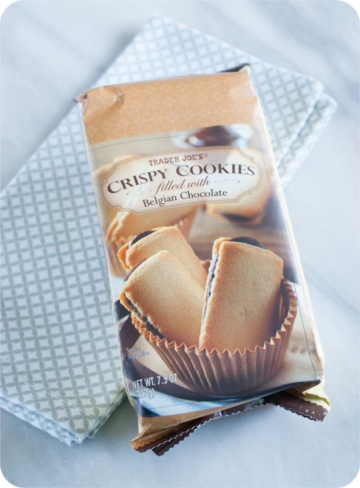 Trader Joe's Crispy Cookies filled with Belgian Chocolate review