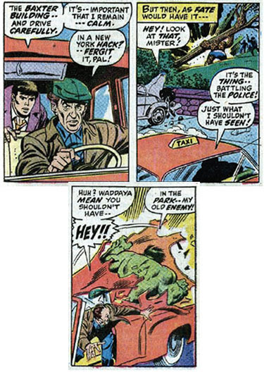 A cabbie of the Marvel Universe