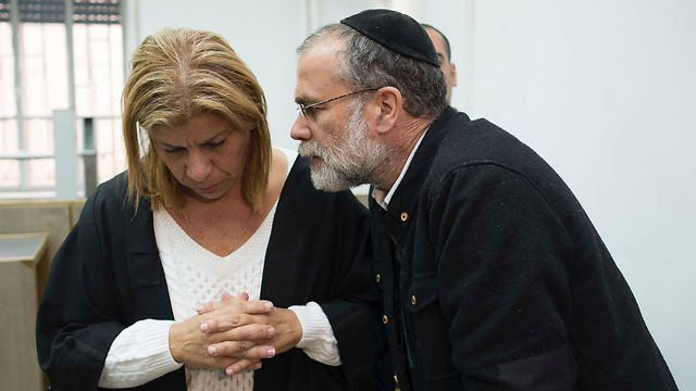 Harrison with his lawyer (Photo: Yoav Davidkovich) (Photo: Yoav Davidkovich)