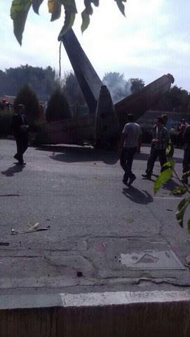 40 کشته در سقوط هواپیمای مسافربری در غرب تهران