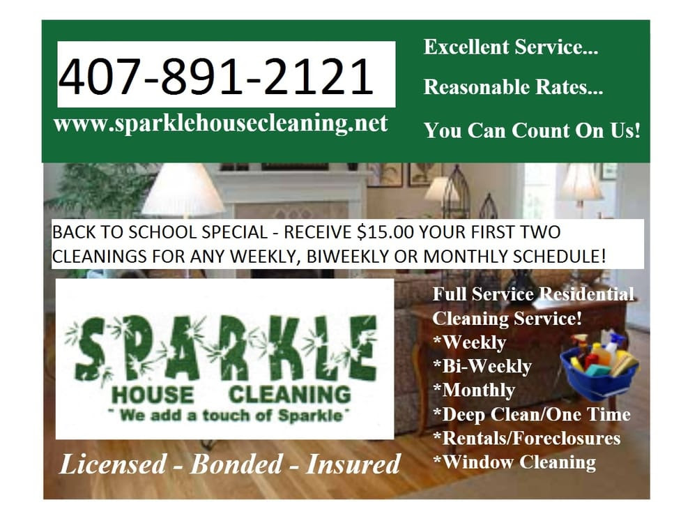 Sparkle House Cleaning - Home Cleaning - Melbourne, FL - Photos - Yelp