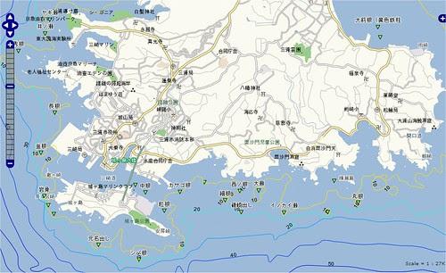 釣りポイント(神奈川県、三浦半島、三崎)