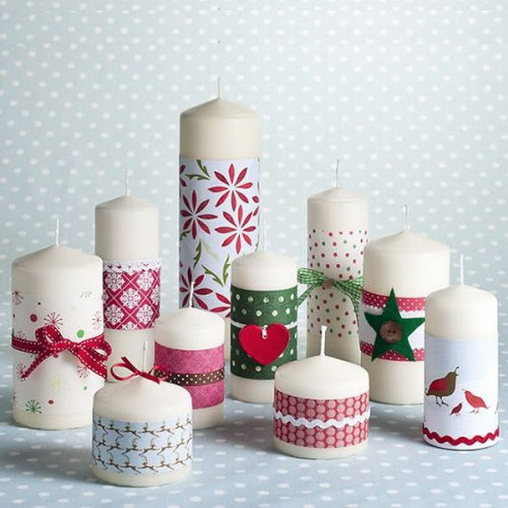 Christmas Candles Gift for December Holiday - family ...