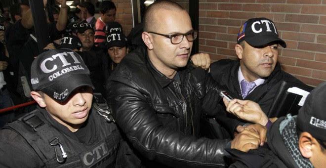 El hacker Andrés Sepúlveda, el día que fue arrestado.