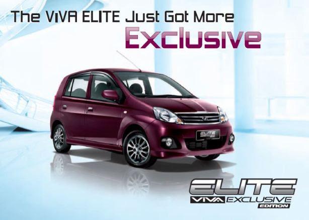 Perodua ViVA Elite Exclusive Edition  PRoDAs AUTO Blog