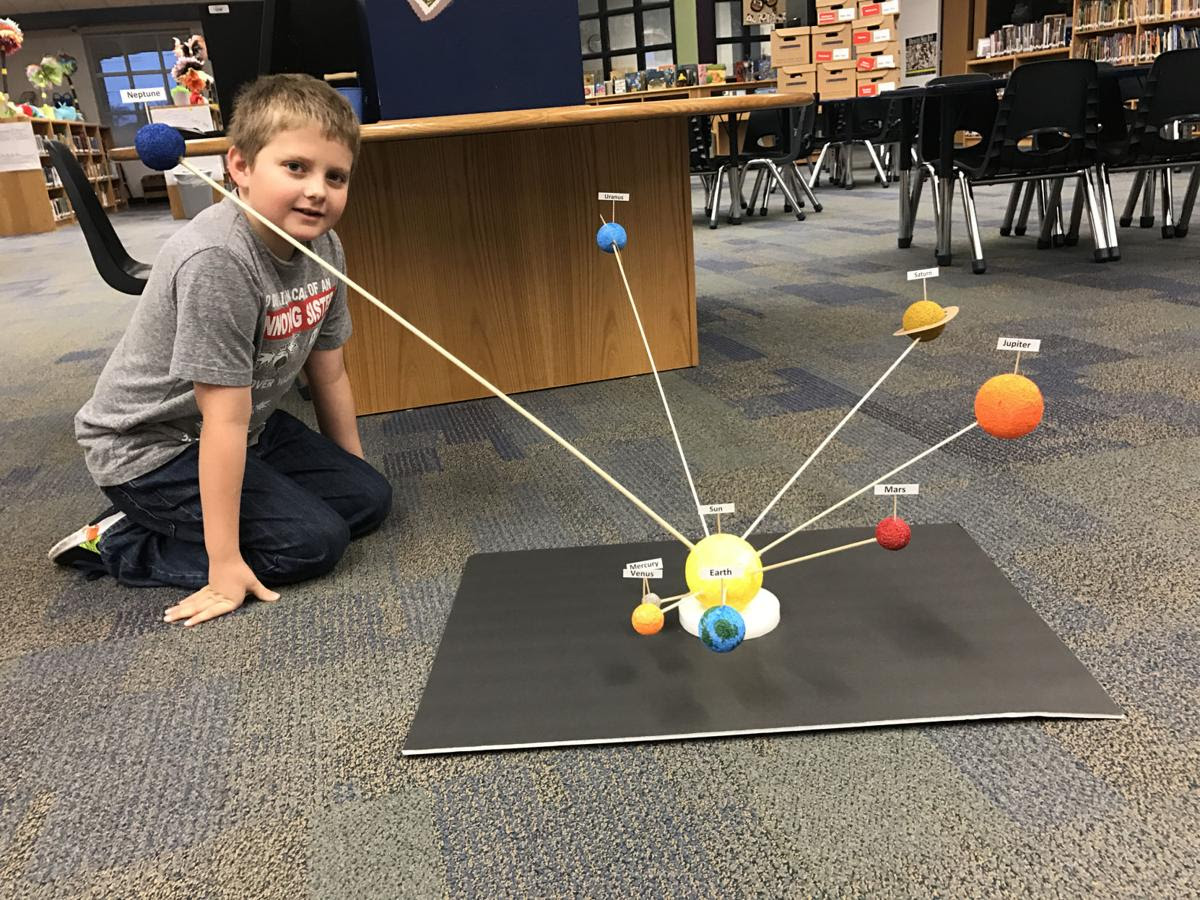 House Creek students land among the stars with science ...