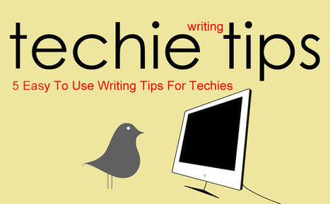 5 Writing Tips For Techies [Marty's Blog]