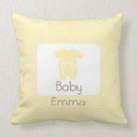 Polka Dot Baby Pillow