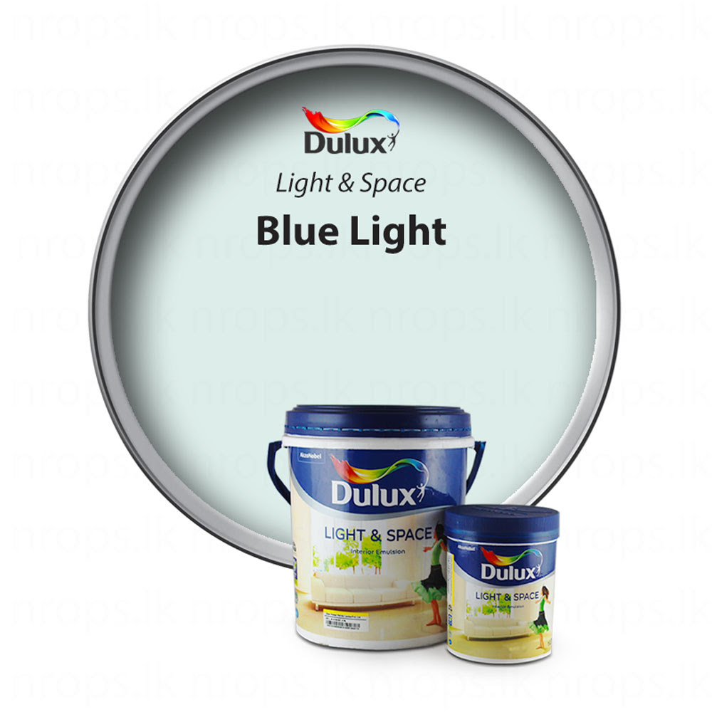 Dulux Light Space Blue Light nrops lk