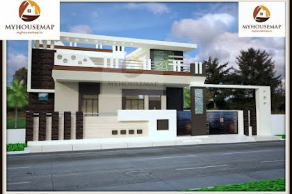Home Elevation Design Only Ground Floor