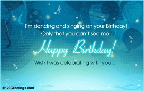Wish I Was Celebrating! Free Miss You eCards, Greeting